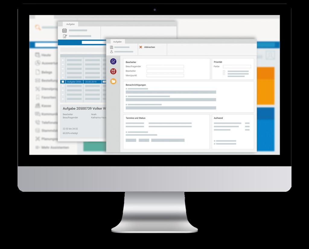 marahplus Warenwirtschaft Aufgabenverwaltung | Sauter + Held Software