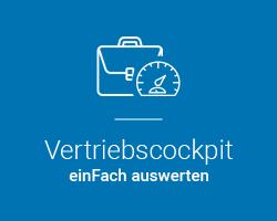 Assistent Vertriebscockpit - marahplus ERP Warenwirtschaft | Sauter + Held Softwareß