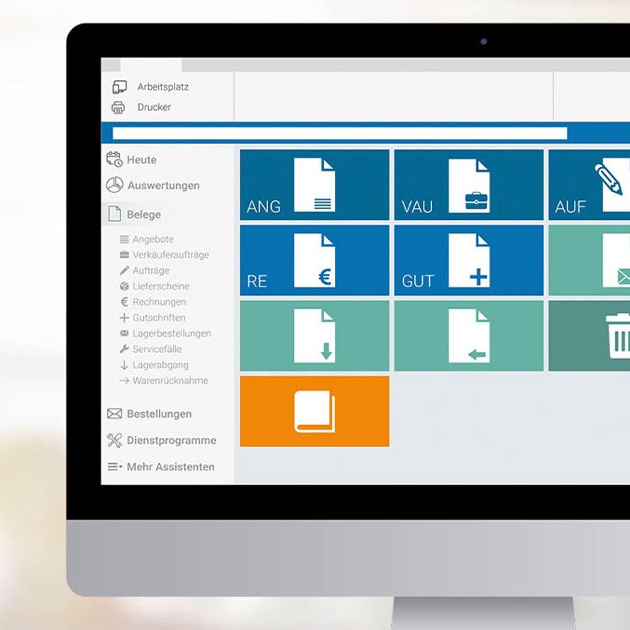 Auftragsbearbeitung marahplus ERP + Warenwirtschaft – Sauter + Held Software