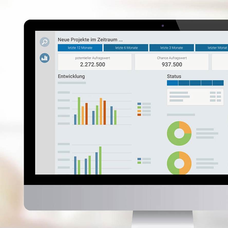 Controlling - marahplus ERP + Warenwirtschaft – Sauter + Held Software