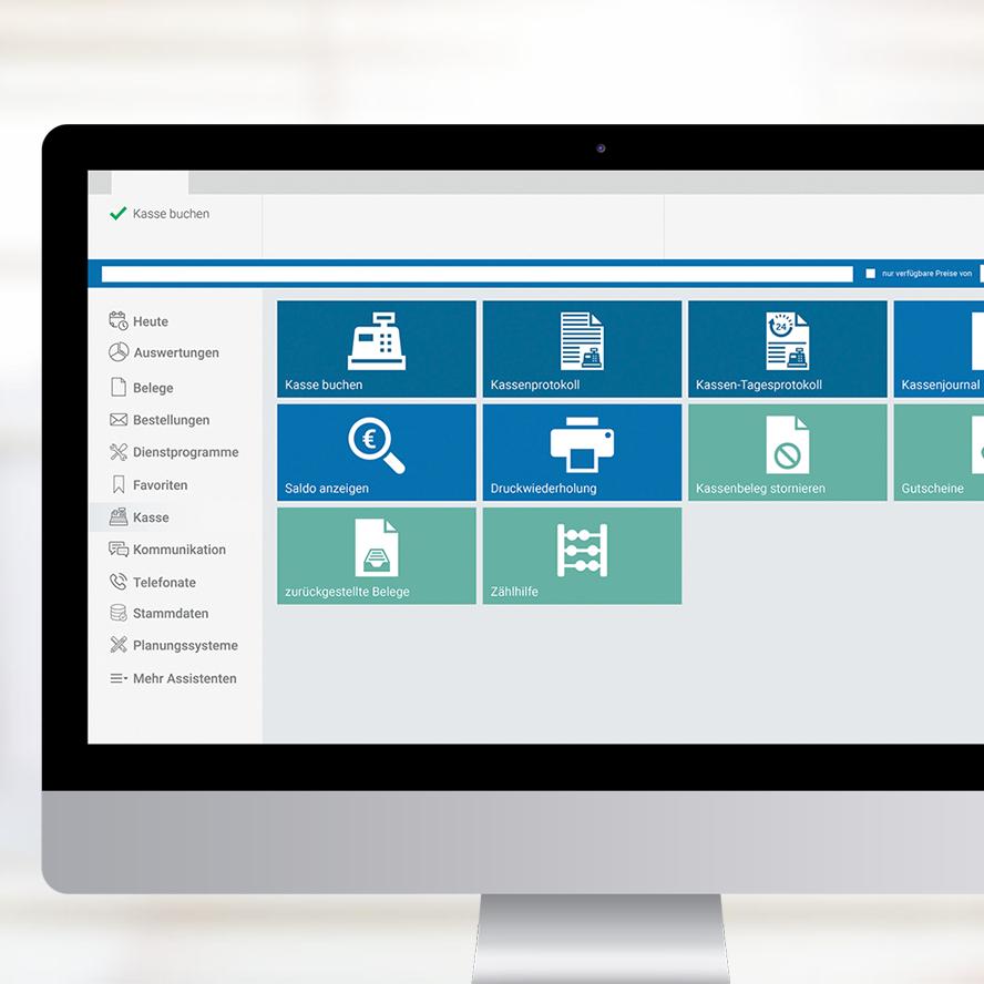 Kasse - marahplus ERP + Warenwirtschaft – Sauter + Held Software