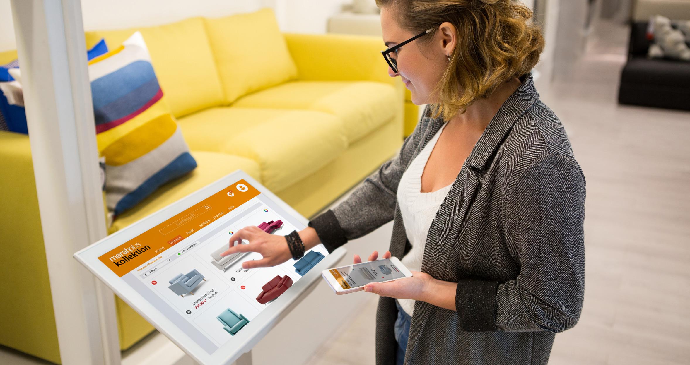 Top-Service für deine Kunden – stationär wie online